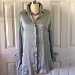 Beautiful sea green tunic